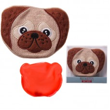 Cute Knitted Hand Warmer - Pug