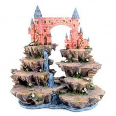 Fantasy Castle Mountain Tiered Display Stand