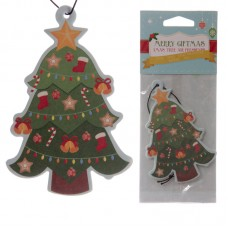 Christmas Tree Shaped Pine Scented Air Freshener