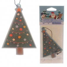 Tree Shaped Pine Scented Christmas Air Freshener